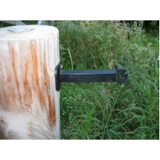 "6"" WOOD POST ELECTRIC FENCE INSULATOR"